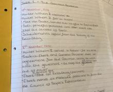 Tre Bauckham Yr10 History 1