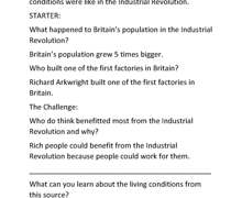 Yr8 Brooke White History Page 1