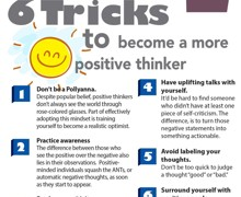 6 Tricks to Become a More Positive Thinker