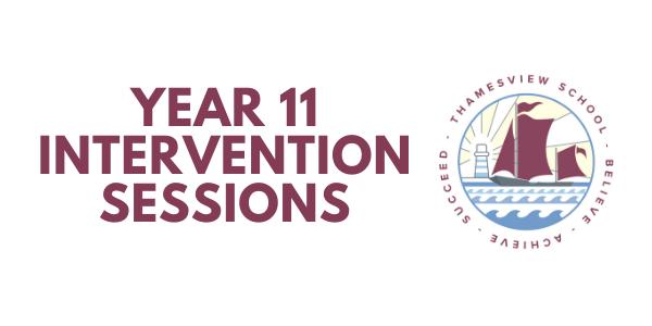 Year 11 Interventions - October Half Term